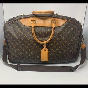 Louis Vuitton Vintage Alize 2 Poches Weekend Bag